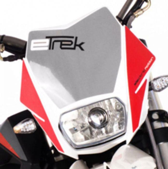 moto électrique, Etrek, Philippe Aresten