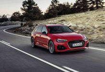 Audi RS4 2020 rouge