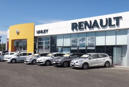 devanture concession renault